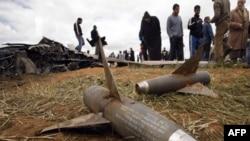 Крушение американского самолета в районе Бенгази