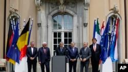 وزیران خارجه شش کشور بنیانگذار اتخادیه اروپا