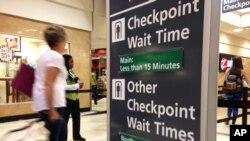 El Aeropuerto Internacional Hartsfield-Jackson en Atlanta, el más ocupado de EE.UU. que se había preparado para largas filas de seguridad, operó sin contratiempos el lunes, 30 de mayo de 2016.