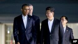 Барак Обама и президент Китая Си Цзиньпин