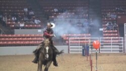 Cowboy Mounted Shooting Joins Houston Rodeo Competition