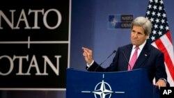 ABD Dışişleri Bakanı John Kerry, görev süresinin dolmasına az bir süre kala Brüksel'de son NATO Dışişleri Bakanları Toplantısı'na katıldı.