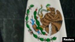 墨西哥国旗的一部分
