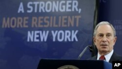 Michael Bloomberg dijo que es un plan muy ambicioso pero que es urgente darle inicio ahora.