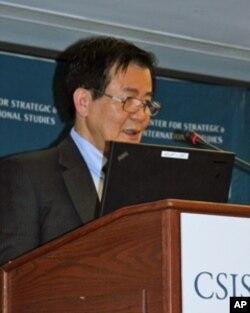 前台湾总统府国安会副秘书长江春男