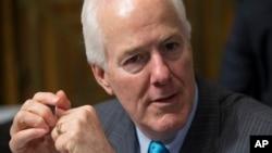 El retiro del senador Cornyn parece indicar que una figura partidista tiene pocas probabilidades de ser confirmado en el Senado.