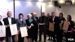 Nagradjeni novinari u Beogradu