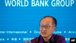 Archivo Oct. 2018 - Jim Yong Kim, Presidente del Banco Mundial.