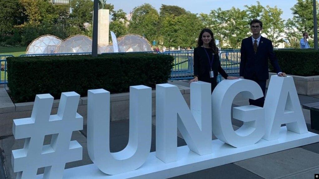 Zëri i aktivistëve të rinj shqiptarë në OKB