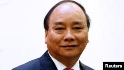 Thủ tướng Việt Nam Nguyễn Xuân Phúc đã rời Hà Nội đi Mỹ hôm 28/5 (ảnh tư liệu, 5/5/2017)