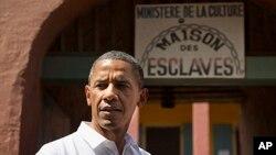 Barack Obama, Ile de Gorée, Sénégal, le 27 juin 2013.