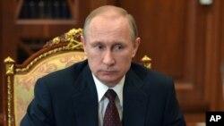 Владимир Путин. Москва, 10 марта 2015.
