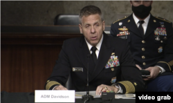 Senate hearing on US Indo-Pacific Command with Navy Adm. Philip S. Davidson