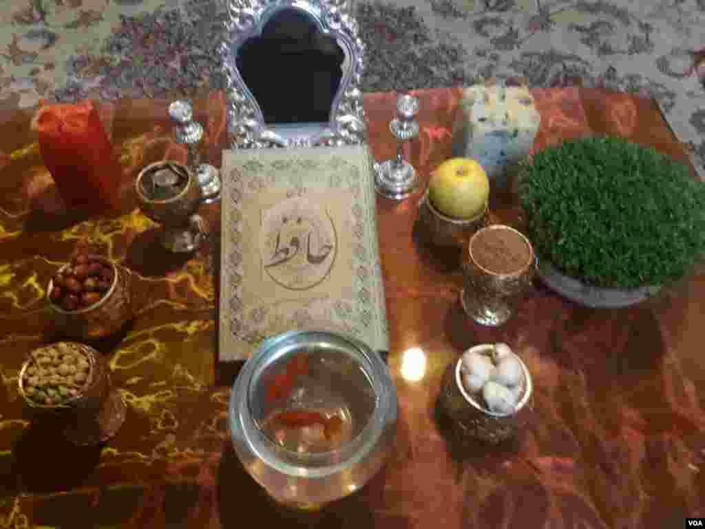 سفره هفت سین نوروزی - محمد از مشهد