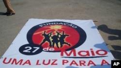"""Luanda: Manifestação da """"Fundação 27 de Maio"""" decorre sem incidentes"""