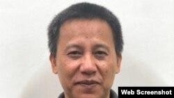 Nhà báo độc lập Lê Văn Dũng. Photo Dân Trí