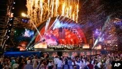 3일 미국 동부 보스턴에서 독립기념일 축하 공연이 열렸다.