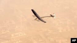 Solar Impulse en vol (AP)