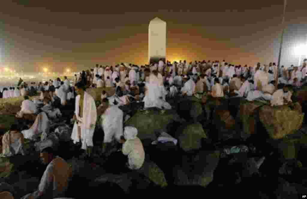 Une vue du Mont Arafat