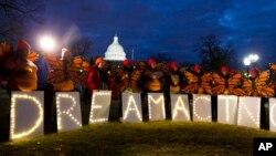 """Мітинг в Вашингтоні на підтримку закону DACA, що захищає іммігрантів-""""мрійників"""""""
