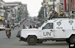 La MINUL assure la sécurité à Monrovia, à l'occasion du second tour de la présidentielle