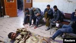 大馬士革郊區東古塔一處醫療點