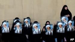 تظاهرات ضد دولتی حامیان عیسی قاسم، روحانی شیعه بحرینی