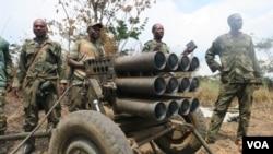 Les FARDC dans le Parc de Vurunga pour combatre les groupes armés Mai Mai et FDLR, le 1 er Juin 2017