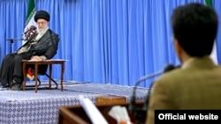 علی خامنه ای رهبر جمهوری اسلامی ایران