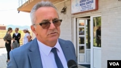Fatmir Gaši, zamenik ministra finansija u vladi Kosova i zvaničnik Alijanse za budućnost Kosova (Foto: VOA)