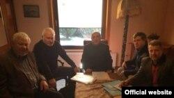 Elmar Məmmədyarov Minsk Qrupunun həmsədrləri ilə görüşüb