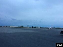 埃尔门多夫空军基地(美国之音莉雅拍摄)