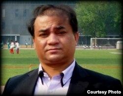 中央民族大学副教授、维吾尔族学者伊力哈木(唯色博客图片)