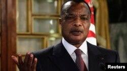 Rais wa Jamhuri ya Congo, Denis Sassou Nguesso.