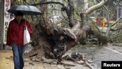 Uruguay sufrió recientemente una tormenta que dejó varios tdestrozos. Esta semana fue sede de la X Conferencia de Ministros de Defensa de las Américas donde se logró el acuerdo de cooperación en desastres.