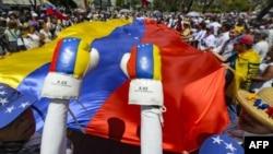 El informe del Observatorio Venezolano de Conflictividad Social publicado el lunes 15 de abril de 2019 indicó que la cifra de protestas en los primeros 90 días del año equivale a unas 69 manifestaciones diarias.