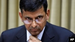 FILE - Governor of the Reserve Bank of India (RBI) Raghuram Rajan.