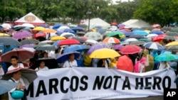 Abanyagihugu biyamiriza ko imva ya Ferdinand Marcos yahoze arongoye Philippine izanwa k'umurwa mukuru Manila