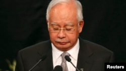 马来西亚总理纳吉布。