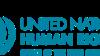 图为联合国人权事务高级专员办公室的标志。