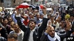 Єгиптяни у різних країнах святкують успішне завершення 18-денних протестів