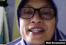 Mantan komisioner Komnas Perempuan, Sri Nurherwati. (Foto: screenshot)