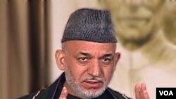 Presiden Afghanista Hamid Karzai