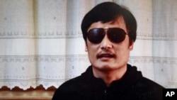中國盲人維權異議人士陳光誠。