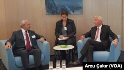 Kemal Kılıçdaroğlu Strasbourg'da Avrupa Konseyi Genel Sekreteri Thorbjørn Jagland'la görüştü