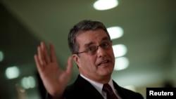 FILE - Roberto Azevedo, Director-General of the World Trade Organization (WTO).