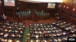 Kosovski parlament, avgust 2017.