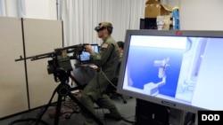 美軍人員2016年3月22日訓練使用人工智能技術 (美國國防部照片)