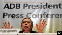 구로다 하루히코 아시아개발은행 총재. (자료사진)