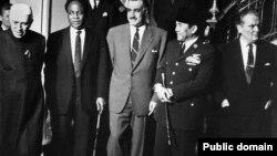 بنیان گذاران جنبش غیرمتعهدها در بلگراد، ۱۹۶۱